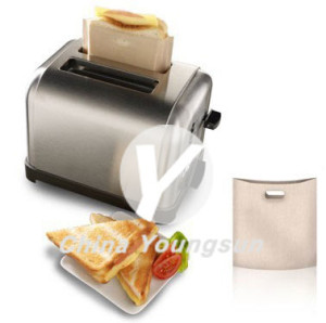 nonstick and reusable toastie bags